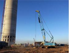 河南强夯施工队在福州高速基础分层回填强夯施工