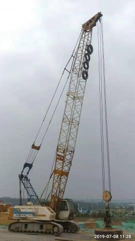 钢结构厂房地基基础强夯施工开工大吉
